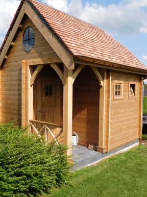 cottage maar met eigen dakbekleding