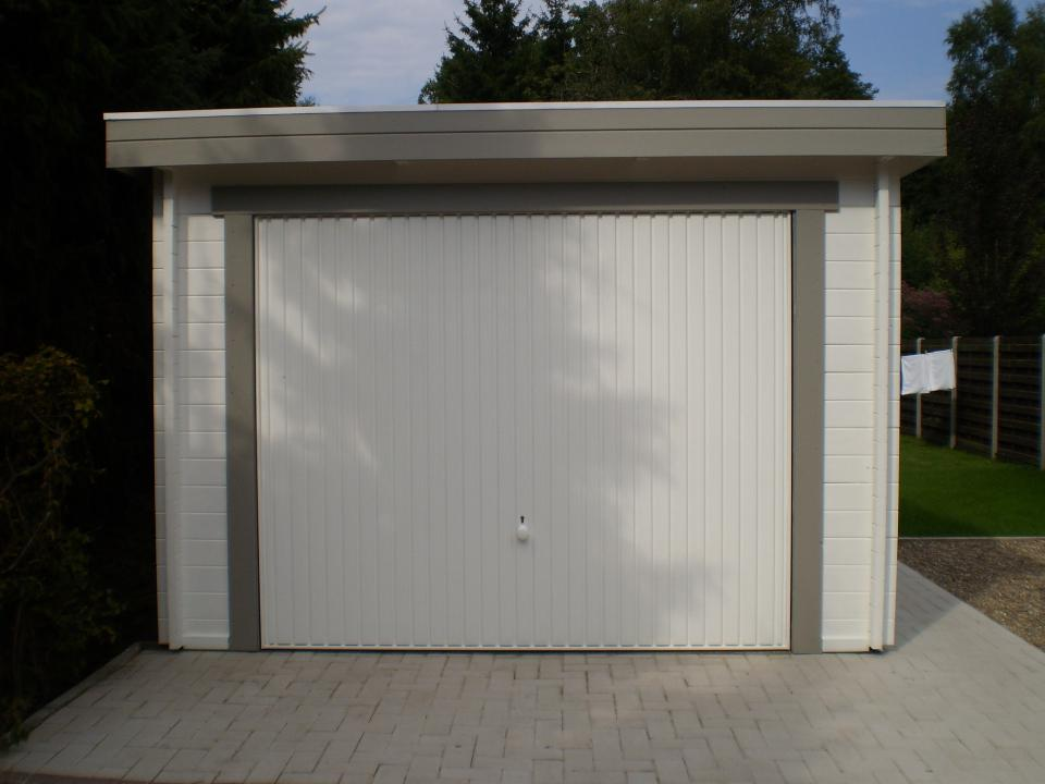 garage plat dak