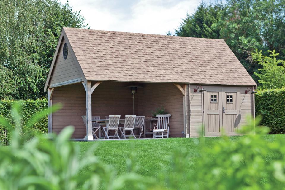 tuinhuis cottage met eik